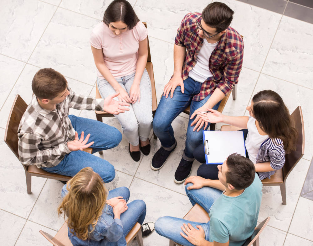 group mental health sessions