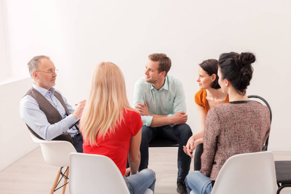 adult mental health group sessions
